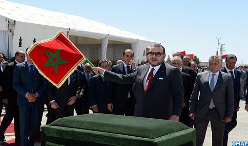 SM le Roi préside la cérémonie de signature de la convention relative au programme intégré de développement urbain de la ville d'Oujda (2013-2016)