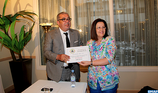 Aïcha Benamour-Benis lauréate du 1er Prix Gutenberg du livre en langue française