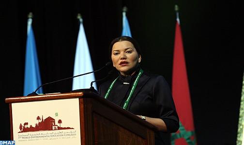 SAR la Princesse Lalla Hasnaa préside à Marrakech le 7è congrès Mondial de l'Education à l'Environnement