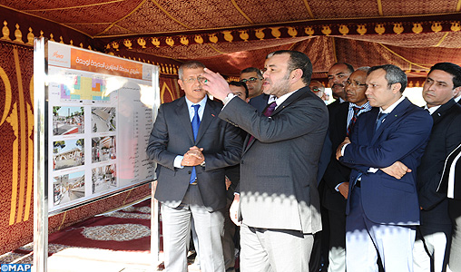 SM le Roi lance à Oujda d'importants projets ferroviaires pour accompagner l'essor économique de la région de l'Oriental