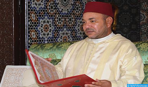 SM le Roi Amir Al Mouminine accomplit la prière du vendredi à la mosquée Al Fadila à Oujda