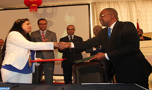 "Accord de coopération entre ""Maroc-Export"" et la Chambre de commerce de la RDC"