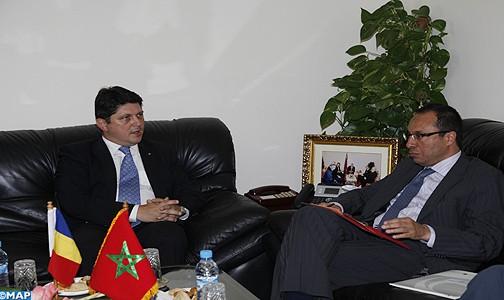 Maroc-Roumanie : Entretien sur le renforcement de la coopération économique