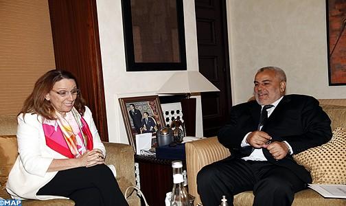Mme Grynspan salue les efforts du Maroc pour la réalisation des OMD