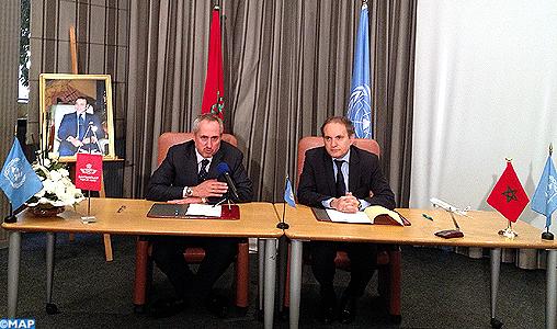 Convention de partenariat entre la RAM et l'ONU