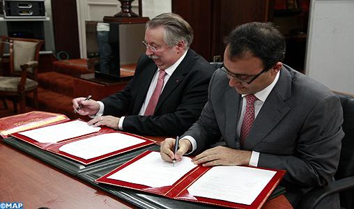 Protocole de partenariat entre la chambre des for Chambre de partenariat euro afrique de belgique