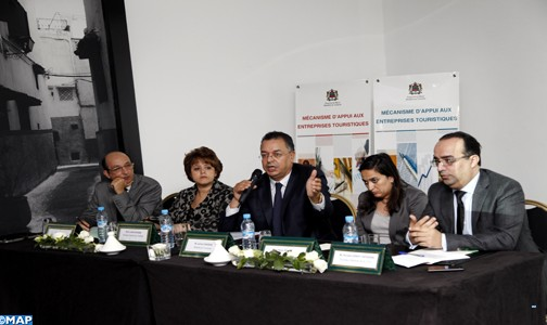 """M. Haddad appelle les PME touristiques à bénéficier de """"Moussanada Siyaha"""" et """"Renovotel 3"""""""