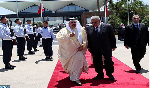 Le Roi de Bahreïn quitte le Maroc au terme d'une visite privée dans le Royaume