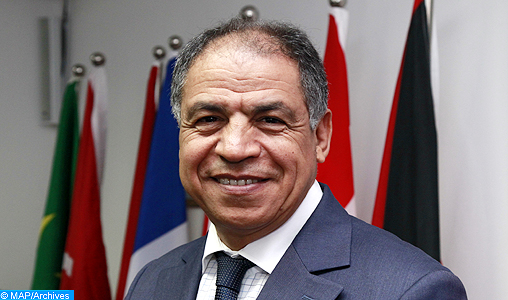 M. Guerraoui, 1er vice-président de l'Union des Conseils économiques et sociaux et institutions similaires de la francophonie
