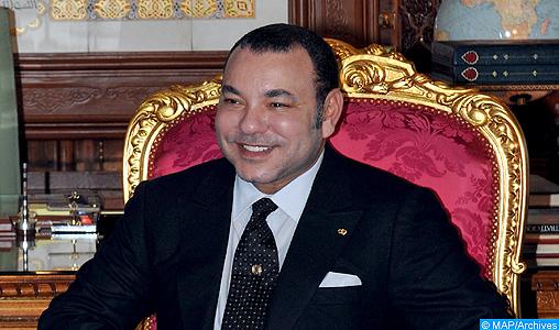 SM le Roi félicite le Président français à l'occasion de la fête nationale de son pays