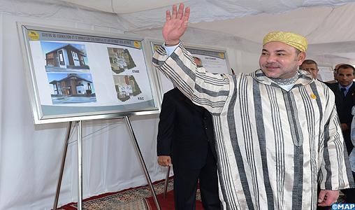 SM le Roi lance deux nouveaux projets solidaires mis à portée des jeunes et de la femme à Skhirate