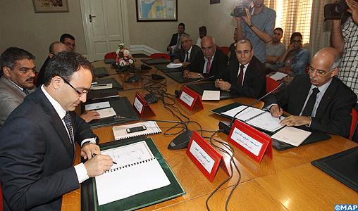 Parlement : signature du PV de la commission chargée de la coordination entre les deux Chambres