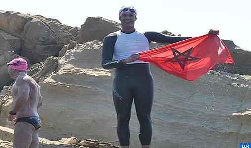 Hassan Baraka, le plus jeune marocain à avoir traversé à la nage le détroit de Gibraltar
