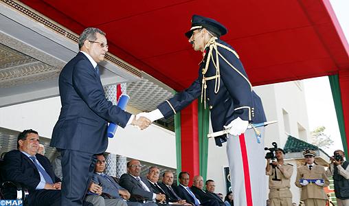 M. Laenser préside la cérémonie de sortie de la 48ème promotion de l'IRAT