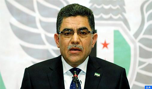 Démission du Premier ministre rebelle syrien Ghassan Hitto
