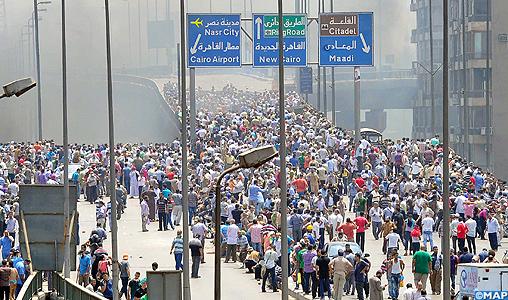 Plus de 460 morts dans les violences en Egypte (Ministère de la Santé)