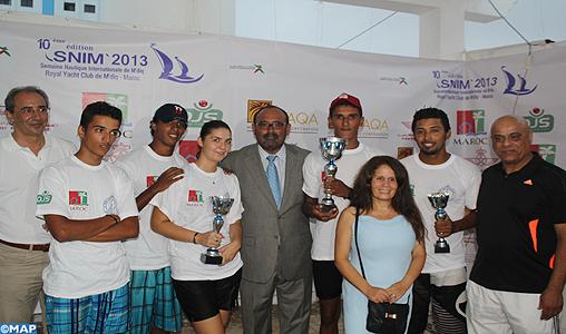 Coup d'envoi de la 10ème semaine nautique internationale de M'diq