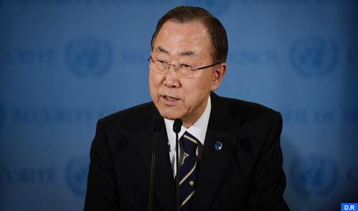 """L'ONU confirme """"sans équivoque et de manière objective"""" l'usage d'armes chimiques en Syrie (Ban Ki-moon)"""