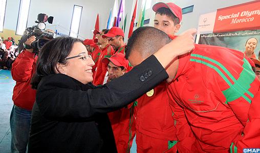 Ifrane: clôture de la 8ème édition des Jeux nationaux de Special Olympics Maroc