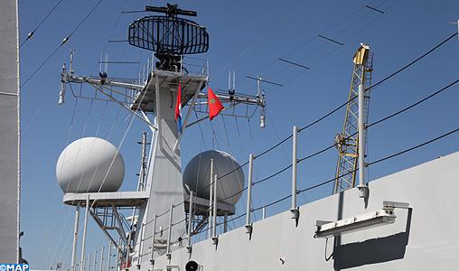 African Winds 2013 Exercise  Escale-navire-neerlandais-a-casa-M3