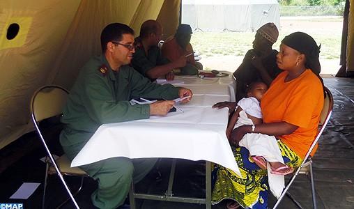 L'hôpital de campagne marocain à Bamako opérationnel