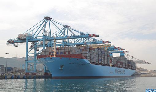 Le plus grand porte conteneurs au monde fait escale au port tanger med map expressmap express - Prenom le plus porte au monde ...