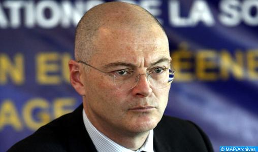 """L'UE se félicite des recommandations """"concrètes"""" du CNDH pour une politique migratoire juste et efficace (Ambassadeur)"""