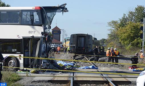 Canada : Au moins cinq morts dans une collision entre un train et un autobus à Ottawa