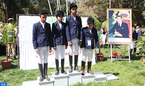 Special Olympics (équitation): Younès Manouni champion du Maroc en saut d'obstacles