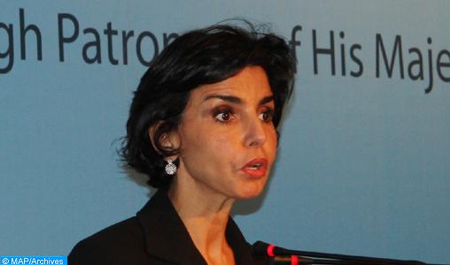 """Mme Rachida Dati : """"C'est avec une très grande hauteur de vue"""" que SM le Roi a accueilli les conclusions du rapport du CNDH"""