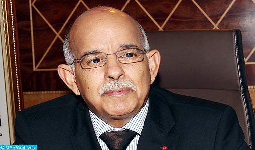 M. Biadillah s'entretient avec une délégation du Groupe parlementaire Canada-Afrique des moyens de renforcer les relations interparlementaires