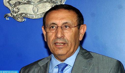 M. Amrani souligne le rôle central de SM le Roi visant à inscrire le Maroc dans une dynamique de stabilité et de consolidation de l'Etat de droit