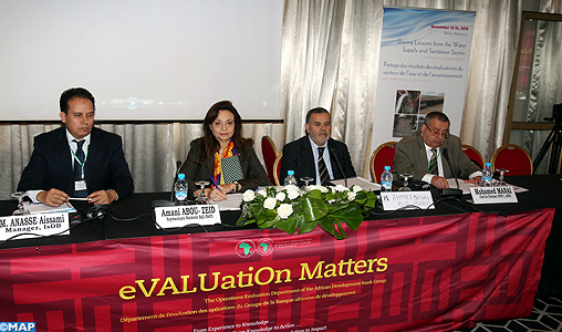Amélioration des systèmes d'adduction de distribution de l'eau dans 30 villes marocaines (Représentante résidente de la BAD)