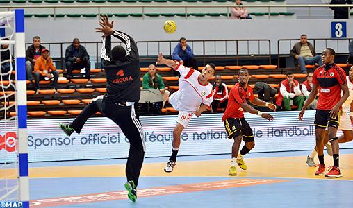 CAN-2014 (Groupe B/messieurs): le Maroc s'incline face à l'Angola
