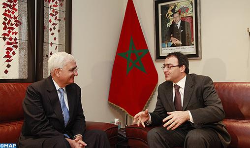 Le ministre indien des AE salue les réformes accomplies par le Maroc lors des dernières années