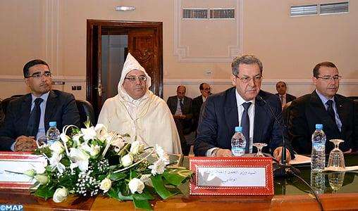 Installation du nouveau gouverneur de la province de Fahs-Anjra