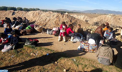 Le Maroc proteste officiellement contre la multiplication des opérations de refoulement par l'Algérie de réfugiés syriens, dont des femmes et des enfants