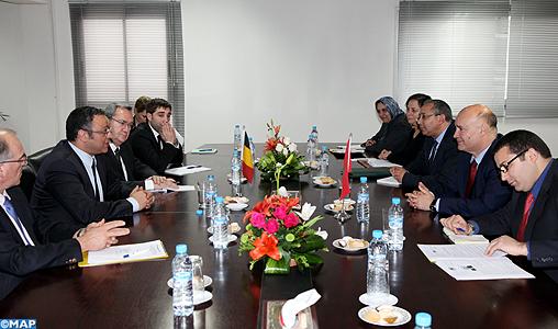 La Communauté marocaine de Belgique au centre d'entretiens entre M. Birou et le secrétaire d'Etat de la région de Bruxelles-Capitale
