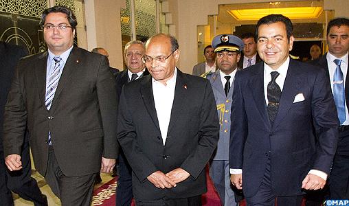 Arrivée de SAR le Prince Moulay Rachid à Tunis pour représenter SM le Roi à la cérémonie officielle d'adoption de la Constitution