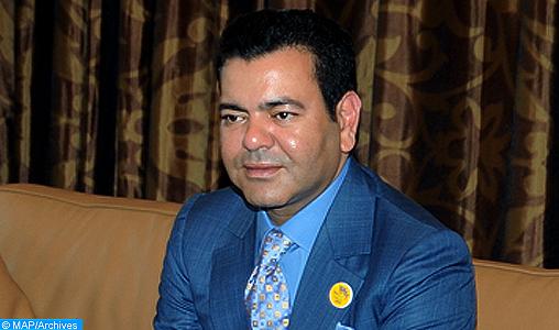 SAR le Prince Moulay Rachid quitte Tunis après avoir représenté SM le Roi à la cérémonie officielle d'adoption de la nouvelle constitution