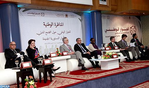 Le Dialogue national sur la société civile propose une Charte nationale de la démocratie participative