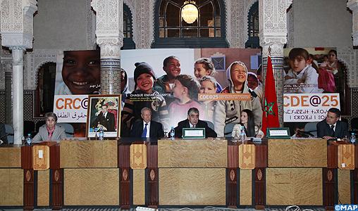 Présentation à Rabat du Rapport mondial de l'UNICEF 2014 sur la situation des enfants : des progrès réalisés avec persistance et des disparités dans l'exercice des droits