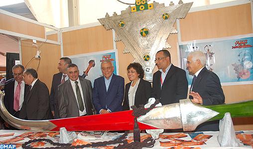 Clôture à Agadir du 2ème salon régional de l'artisanat