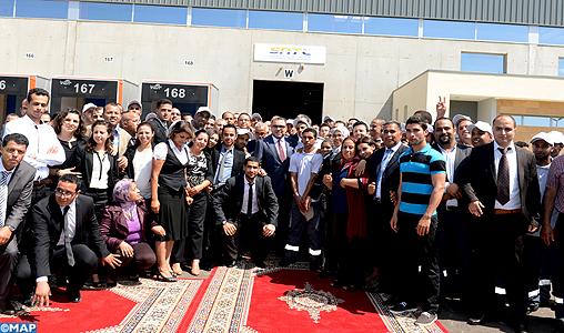 SM le Roi préside à Mohammedia la cérémonie de signature de 7 conventions pour la mise en œuvre de la stratégie nationale de développement de la compétitivité logistique