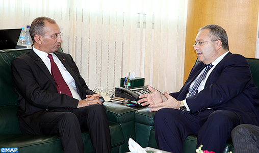 M. Hassad s'entretient avec le Chef de la Mission d'appui des Nations Unies en Libye