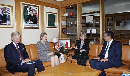 Entretiens maroco-britanniques pour le renforcement de la coopération bilatérale dans le domaine des transports