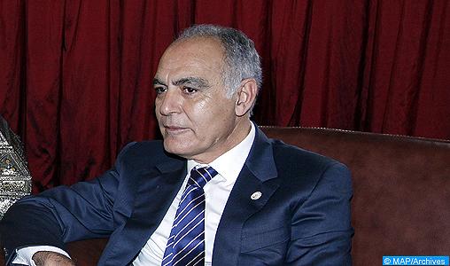 Entretiens au Caire entre Salaheddine Mezouar et Mahmoud Abbas