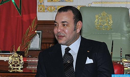 Message de félicitations de SM le Roi au président de la République du Congo, à l'occasion de la fête nationale de son pays