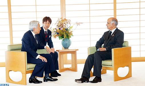 M. Biadillah reçu par le Premier ministre japonais