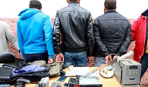 Fès : Arrestation, en cinq jours, de 439 personnes impliquées dans divers actes criminels
